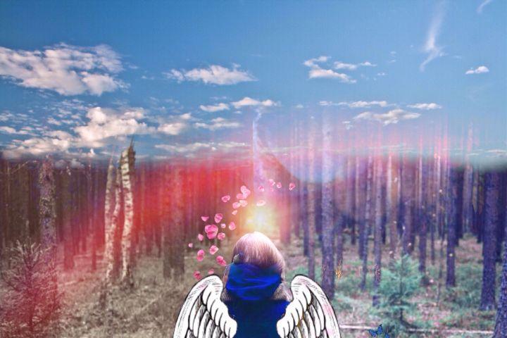 fteearthday earth angel heart