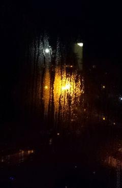 myview night lights rain photography