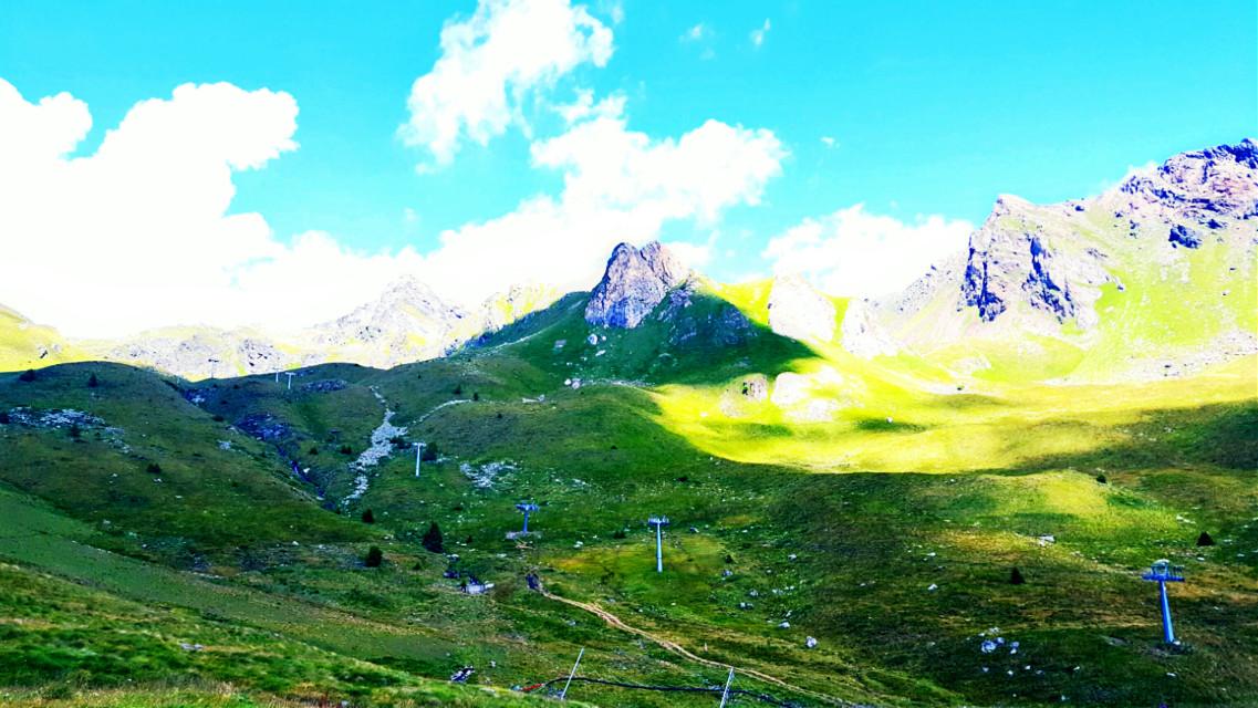 #mountains #paradise #freedom