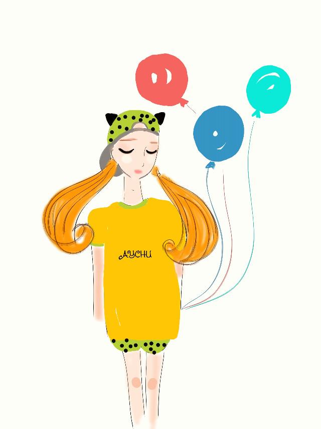 #FreeToEdit  #drawing  #girl #cute #colorful #colorsplash #art #artillustration #draw #illustration #sweet #lovely #smile #life #like #style #aychu #happy #freetoedit #pencilart #nature #love #cute #cute #baby #photography #travel