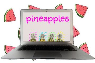 freetoedit pineapples interesting art computer