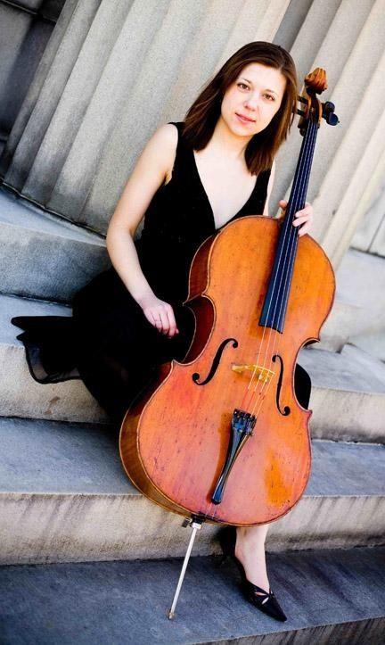 Natalie Spehar from Primitivity cello rock band Cello