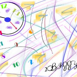 timeiseverything 2bizzy art clock time