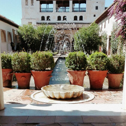 generalife alhambra granada palace andalucia