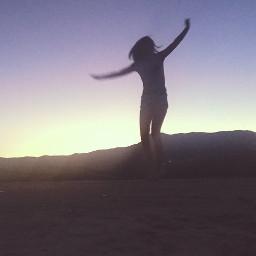 freedom purple sunset freetoedit