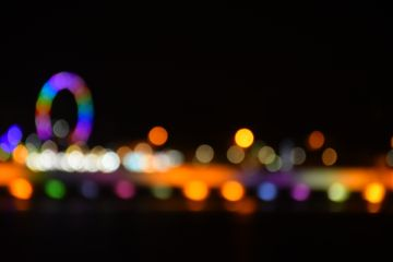 travel bokeh lights photography