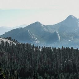 peak art photography mountains hills